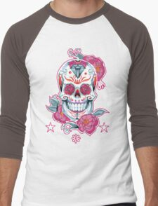 Life is strange Max skull  Men's Baseball ¾ T-Shirt