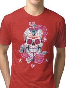 Life is strange Max skull  Tri-blend T-Shirt