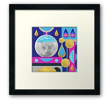 Abstractions No. 3: Moon Framed Print