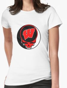 Wisconsin Womens Fitted T-Shirt