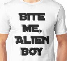 Bite me, Alien Boy Unisex T-Shirt