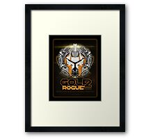 Star Wars GOLD 2 Rogue Warrior - Deluxe Framed Print