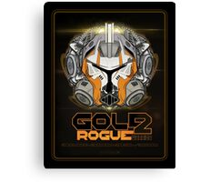 Star Wars GOLD 2 Rogue Warrior - Deluxe Canvas Print