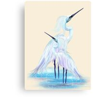 Fantasy Birds Canvas Print