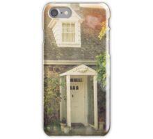 Vintage Stone Cottage Photo- Lomo effects iPhone Case/Skin