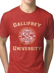 Gallifrey University Tri-blend T-Shirt