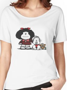 Mafalda & Brother's Women's Relaxed Fit T-Shirt