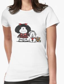 Mafalda & Brother's Womens Fitted T-Shirt