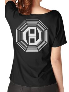 Danganronpa- yin yang symbol Women's Relaxed Fit T-Shirt