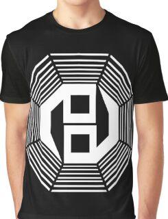 Danganronpa- yin yang symbol Graphic T-Shirt