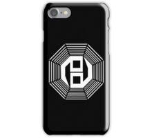 Danganronpa- yin yang symbol iPhone Case/Skin