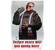 Father Peter Wilt - Limited Edition  Poster