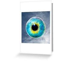 Eye in Space Greeting Card