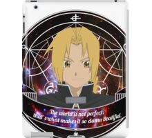 Edward Elric iPad Case/Skin
