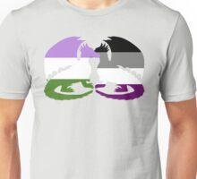 Genderqueer Ace Pride Dragons Unisex T-Shirt