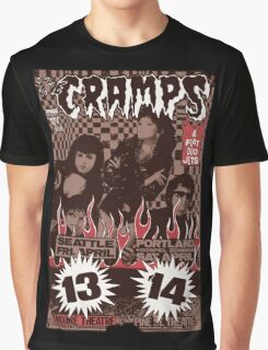 The Cramps (Seattle & Portland shows) Vintage Graphic T-Shirt