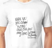 Where We Love LA Quote Unisex T-Shirt