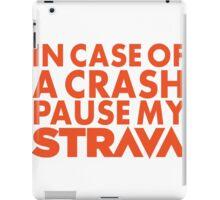 Bicycle priorities iPad Case/Skin