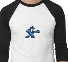 Megaman Men's Baseball ¾ T-Shirt
