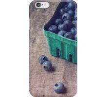 Summer Blueberries no. 2 iPhone Case/Skin