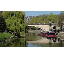 Lazy Day River Avon Photographic Print