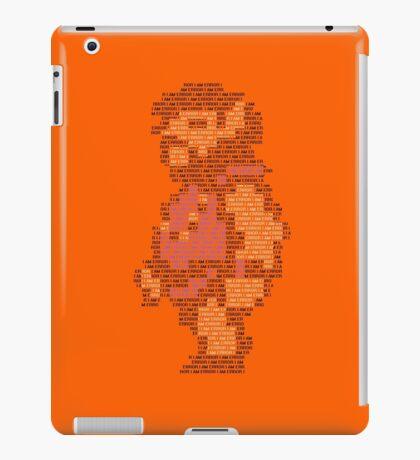 I AM ERROR iPad Case/Skin
