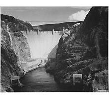 Ansel Adams - Boulder Dam Photographic Print