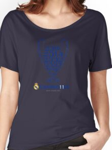 Real Madrid  Women's Relaxed Fit T-Shirt