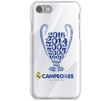 Real Madrid  iPhone Case/Skin