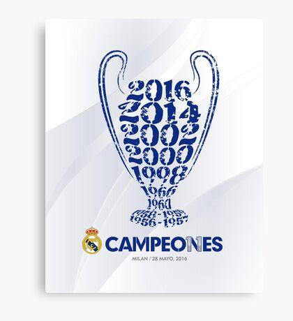 Real Madrid  Canvas Print