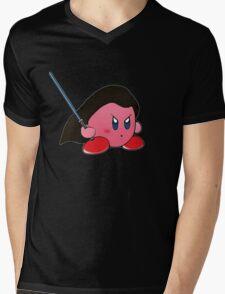 Kirby Jedi Mens V-Neck T-Shirt