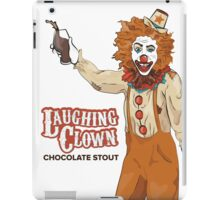 Laughing Clown Chocolate Stout iPad Case/Skin