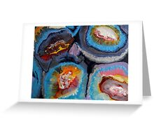 Geodes Greeting Card