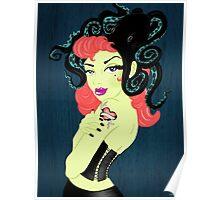 Miss M's Kraken Lover Poster