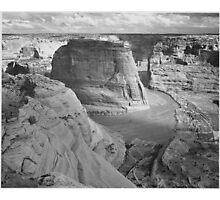 Ansel Adams - Canyon de Chelle Photographic Print