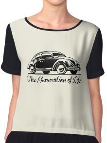 Beetle Car - Generation of Life Chiffon Top