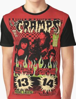 The Cramps (Seattle & Portland shows) Vintage 2 Graphic T-Shirt