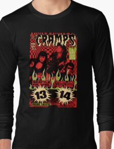 The Cramps (Seattle & Portland shows) Vintage 2 Long Sleeve T-Shirt
