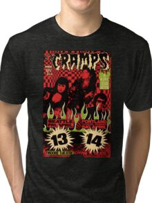 The Cramps (Seattle & Portland shows) Vintage 2 Tri-blend T-Shirt