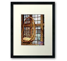 EJK - Rocking Window Chair Framed Print