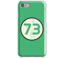 Sheldon Cooper - Distressed Vanilla Cream Circle 73 Transparent Variant iPhone Case/Skin