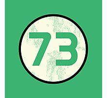 Sheldon Cooper - Distressed Vanilla Cream Circle 73 Transparent Variant Photographic Print
