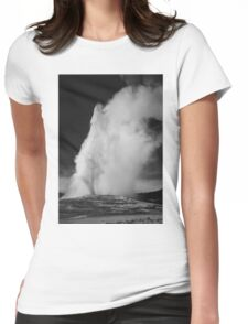 Ansel Adams - Old Faithful Womens Fitted T-Shirt