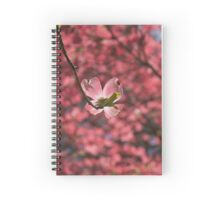 Pink Dogwood Spiral Notebook