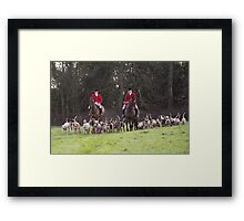 Chelsworth Hunt Framed Print