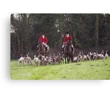 Chelsworth Hunt Canvas Print