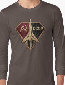 CCCP Rocket Hero Long Sleeve T-Shirt