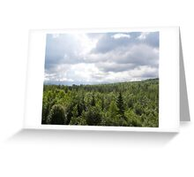 I can see for miles Greeting Card