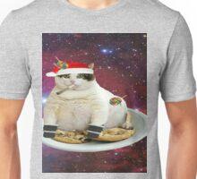 santa cat Unisex T-Shirt