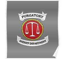 Wynonna Earp - Purgatory Sheriff Department Logo Poster